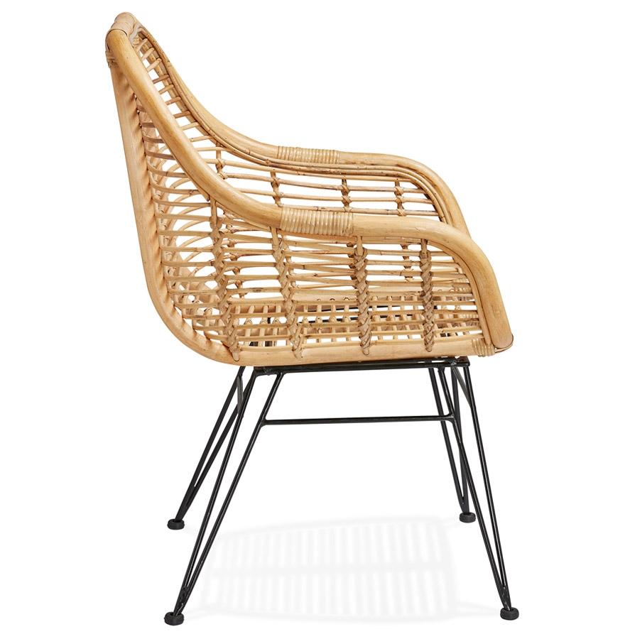 Chaise en rotin ´MOSKITO´ avec accoudoirs