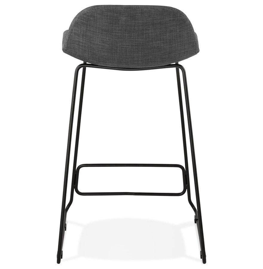 tabouret snack mi hauteur moskow mini noir style industriel. Black Bedroom Furniture Sets. Home Design Ideas