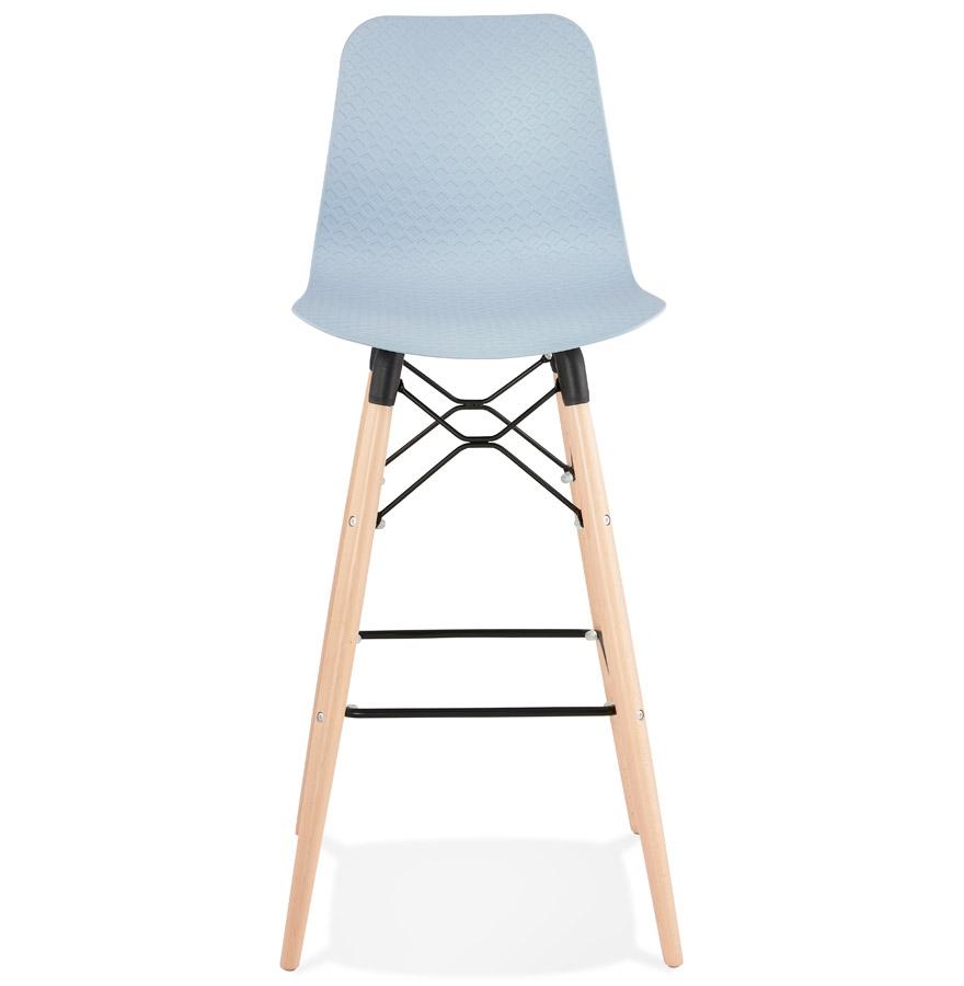 Tabouret de bar design ´MOZAIK´ bleu style scandinave