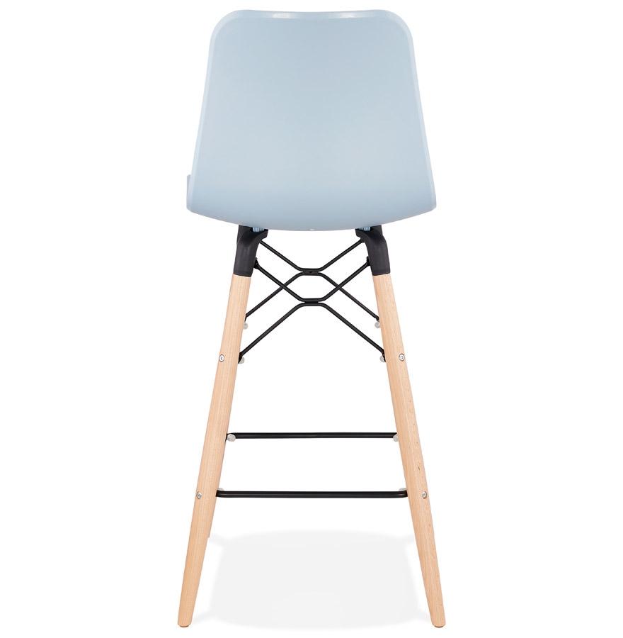 tabouret mi hauteur scandinave mozaik mini bleu tabouret snack. Black Bedroom Furniture Sets. Home Design Ideas