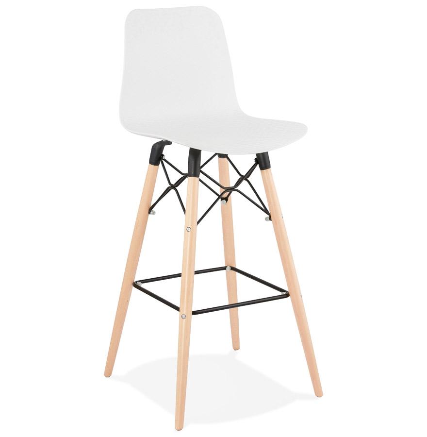 tabouret de bar mozaik blanc tabouret design scandinave. Black Bedroom Furniture Sets. Home Design Ideas