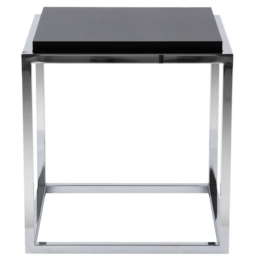 multy black newsite 02 - Cube de rangement ´MULTY´ noir empilable