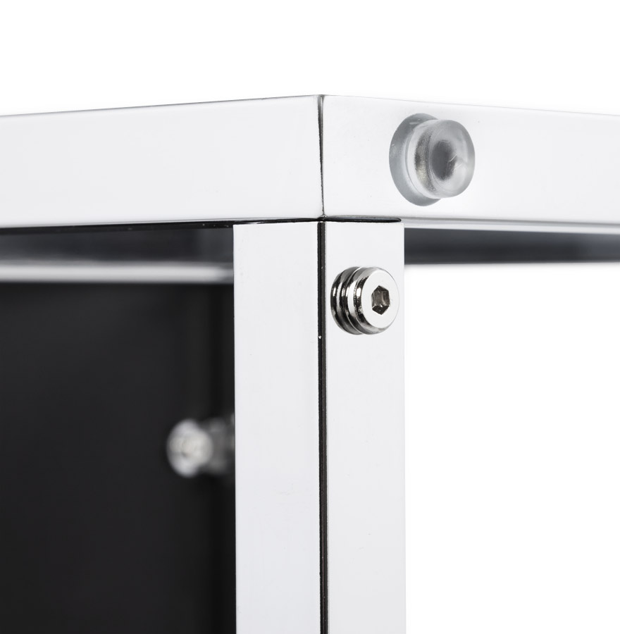 multy black newsite 05 - Cube de rangement ´MULTY´ noir empilable