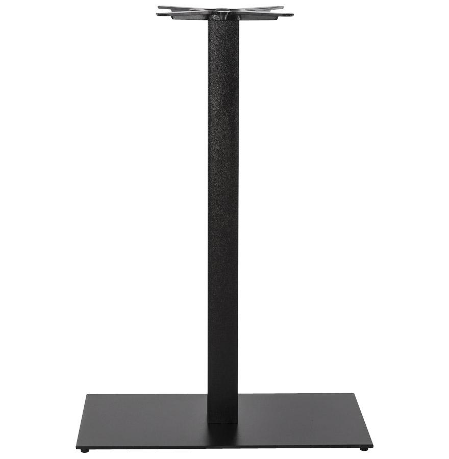 Pied de table ´NERO XL´ 110 noir en métal