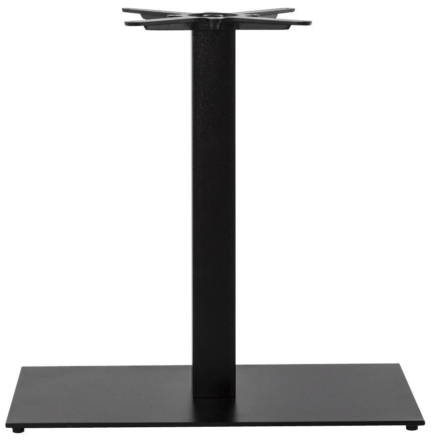 pied de table nero xl 75 noir en m tal alterego design. Black Bedroom Furniture Sets. Home Design Ideas