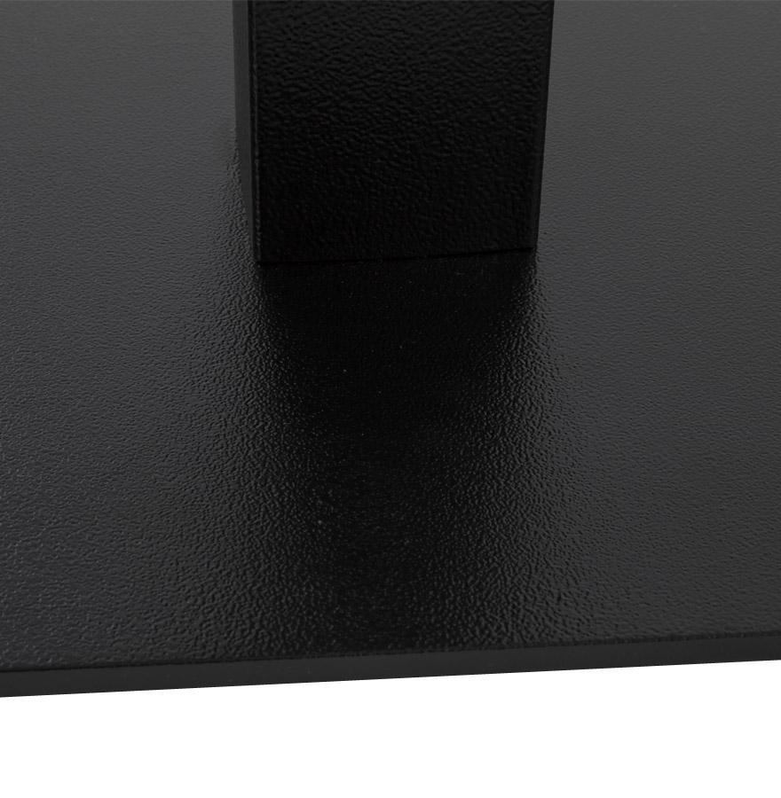 tafelvoet nero xl 90 uit zwart geverfd metaal alterego design. Black Bedroom Furniture Sets. Home Design Ideas