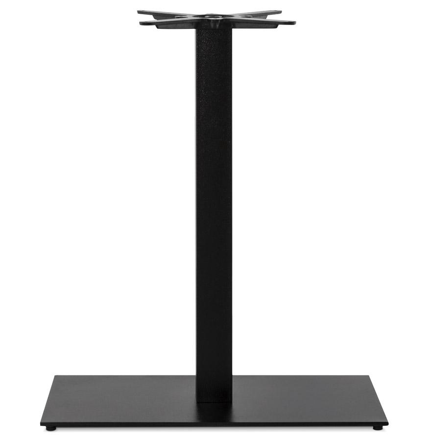 Pied de table ´NERO XL´ 90 noir en métal