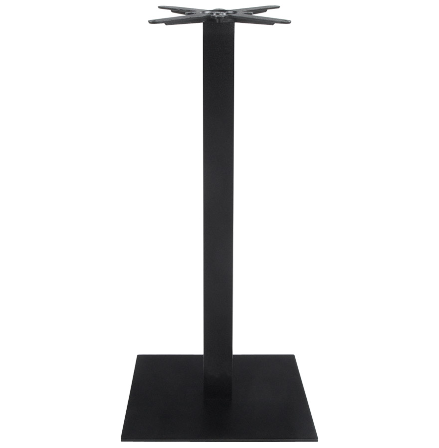 Pied de table ´NERO´ 110 noir en métal