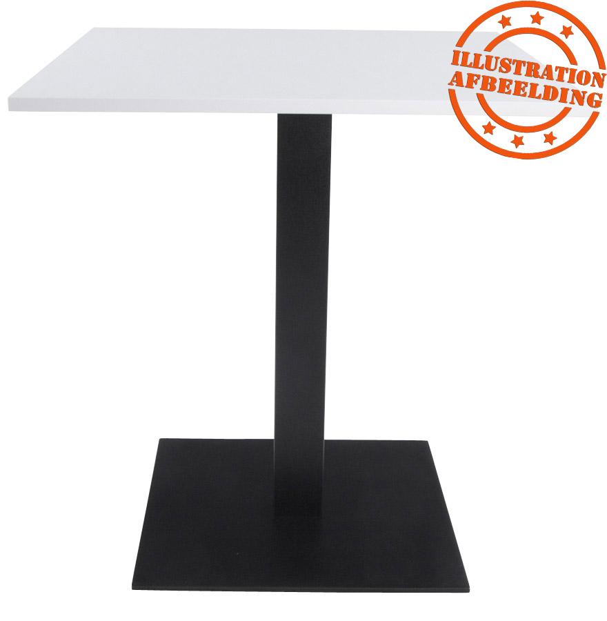 pied de table nero 75 noir en m tal alterego design. Black Bedroom Furniture Sets. Home Design Ideas
