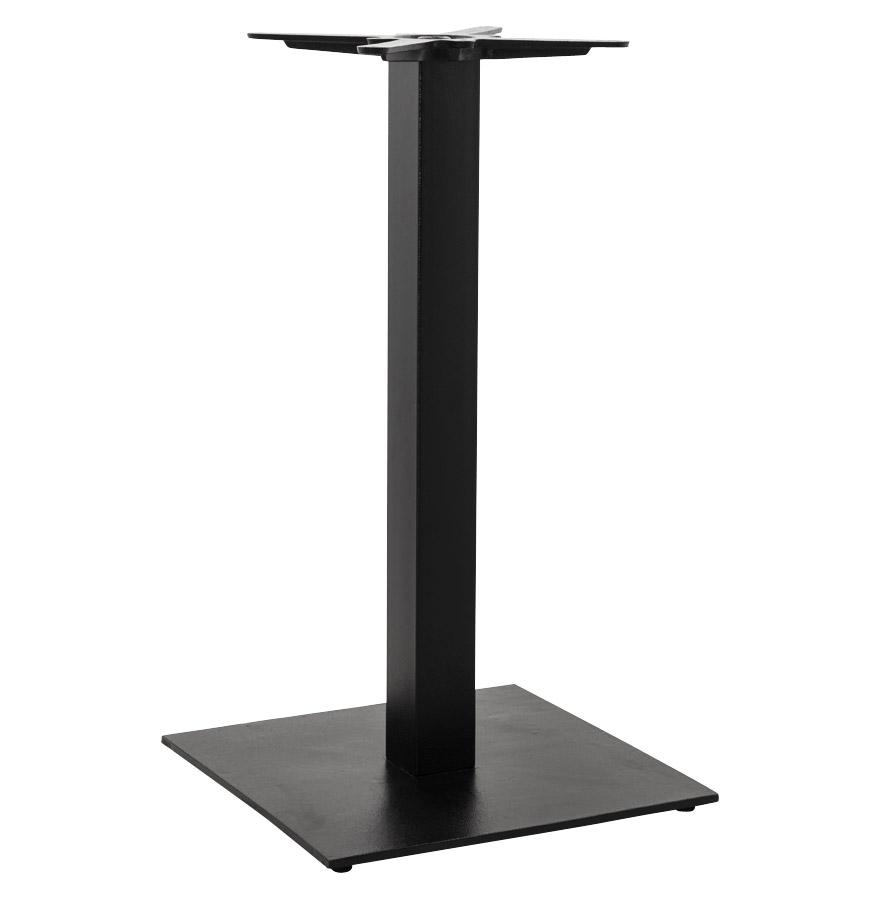 Pied de table ´NERO´ 90 en métal peint noir