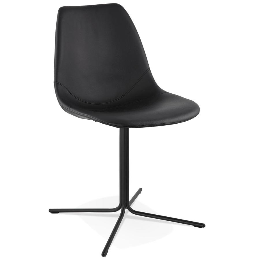 Chaise Design Olala Noire Style Industriel