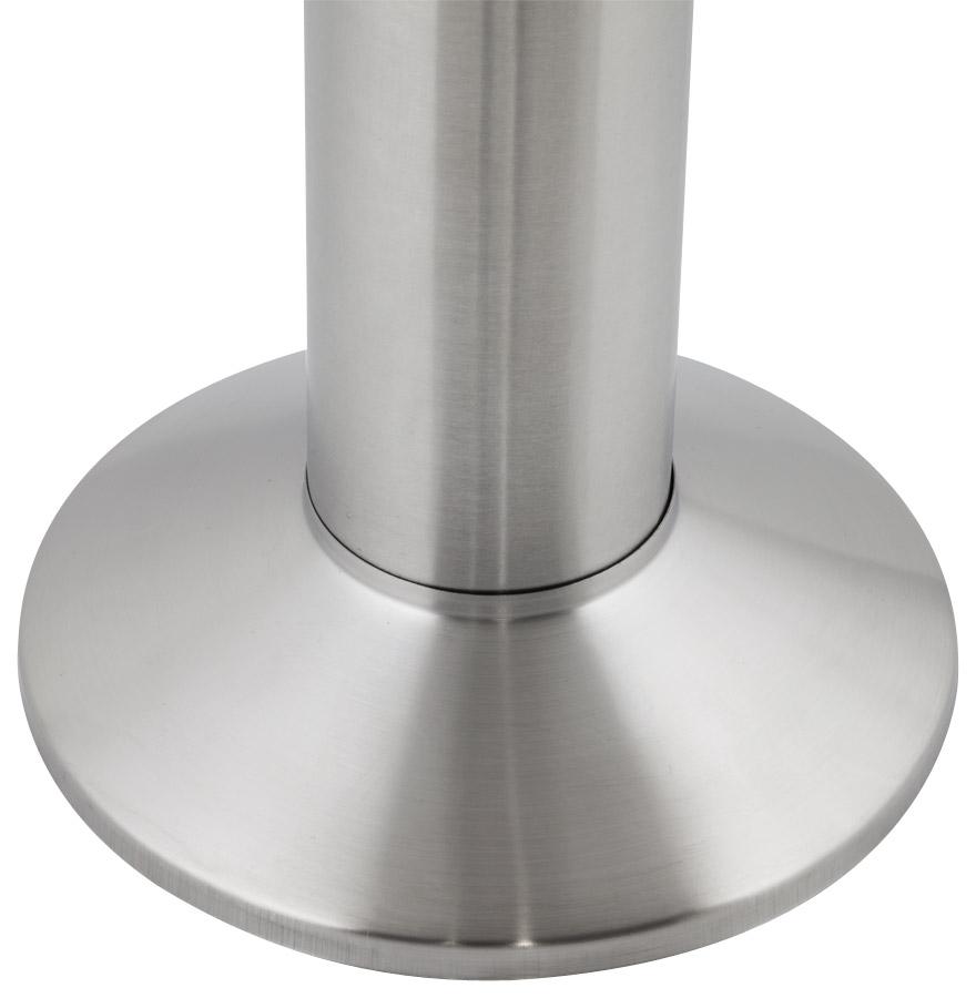 Pied de table ´PIKET´ 110 cm en métal brossé à base ronde