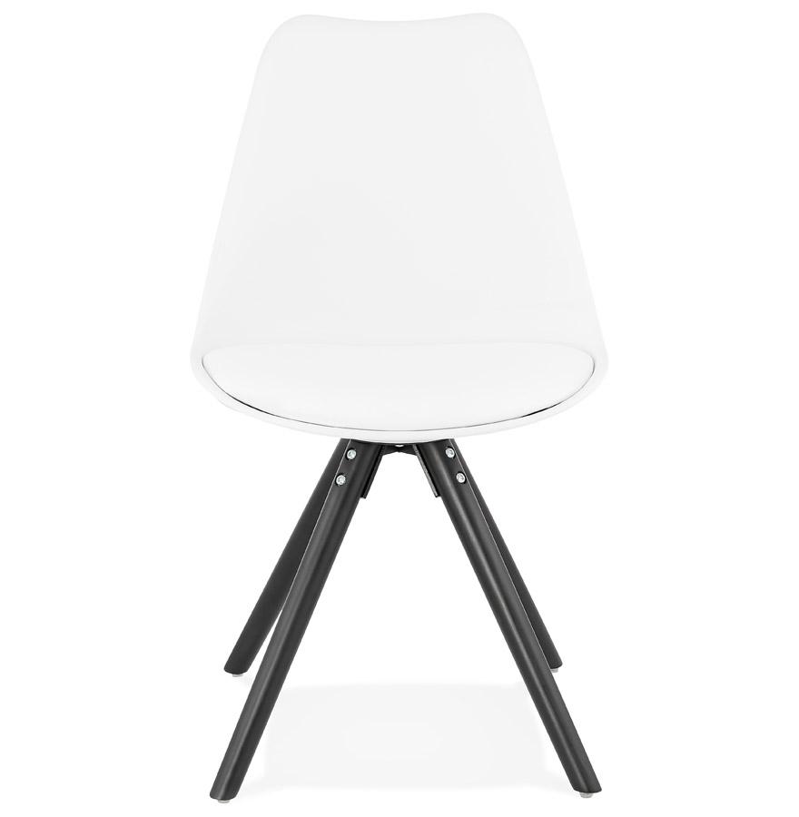 pipa white h2 02 - Chaise design ´PIPA´ blanche