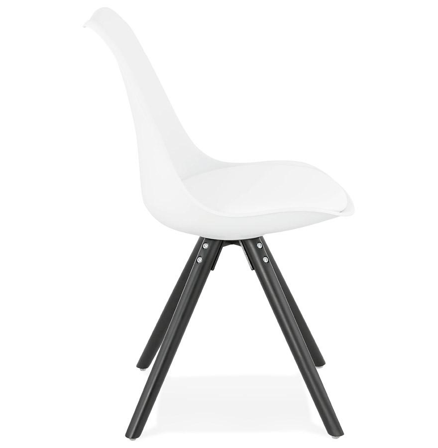 pipa white h2 03 - Chaise design ´PIPA´ blanche