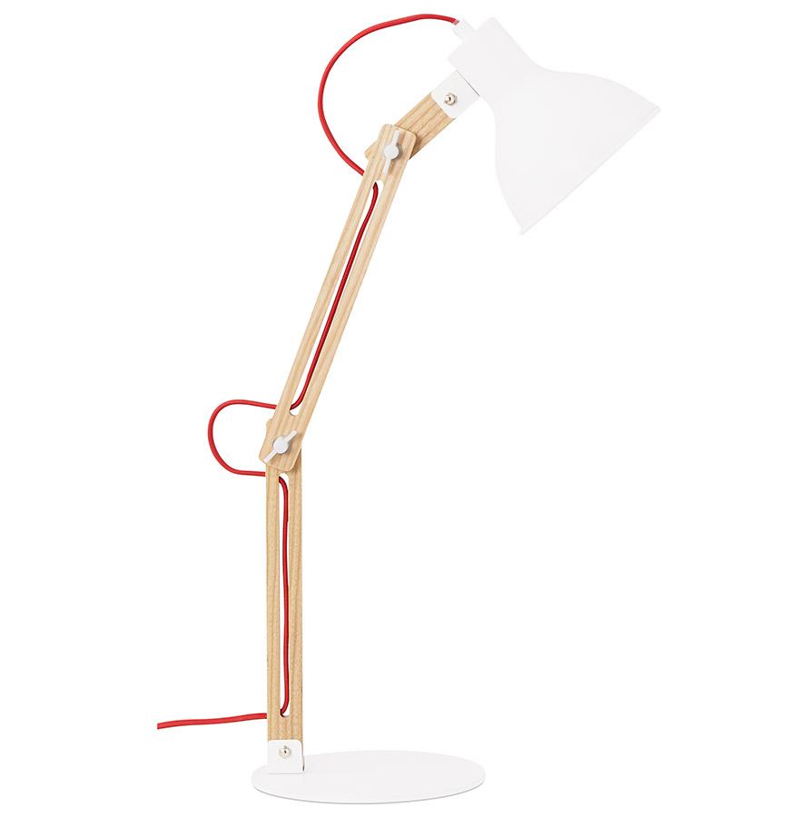 Lampe de bureau architecte ´PIXY SMALL´ blanche