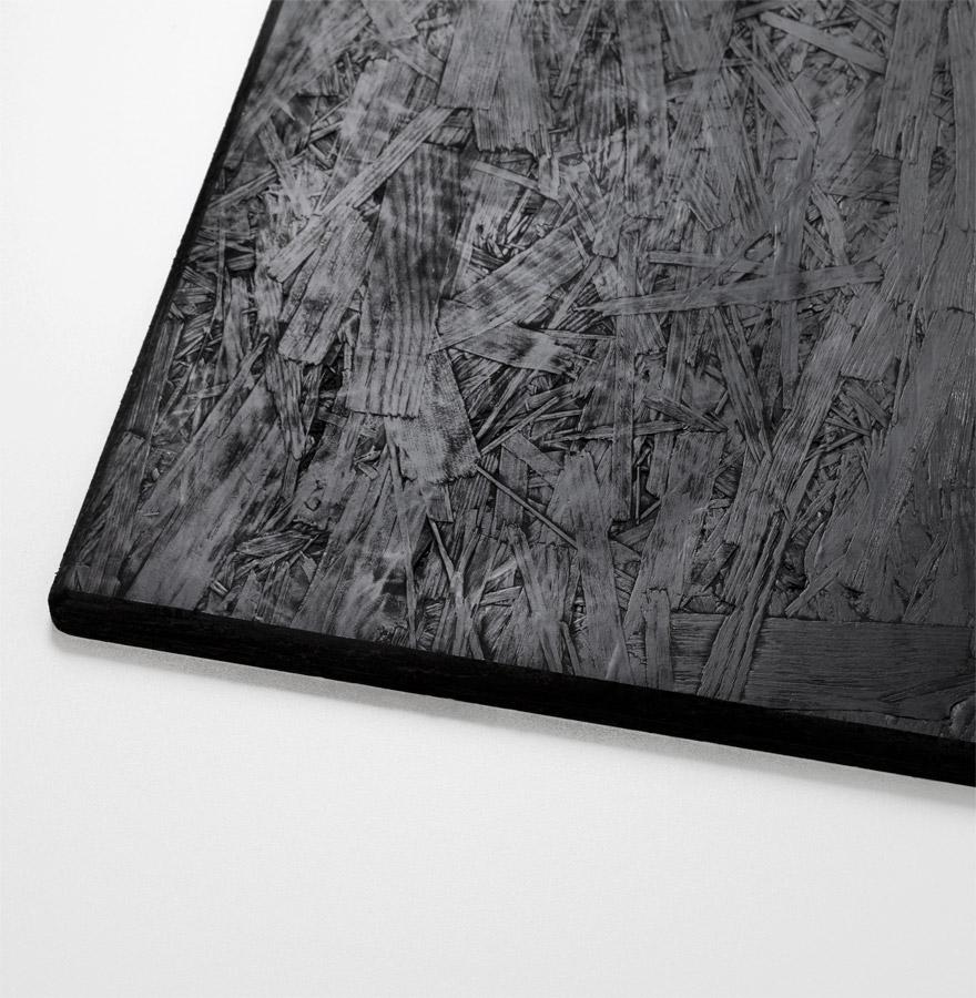 Plateau de table ´PLANO´ rond Ø 68cm blanc en résine compressée