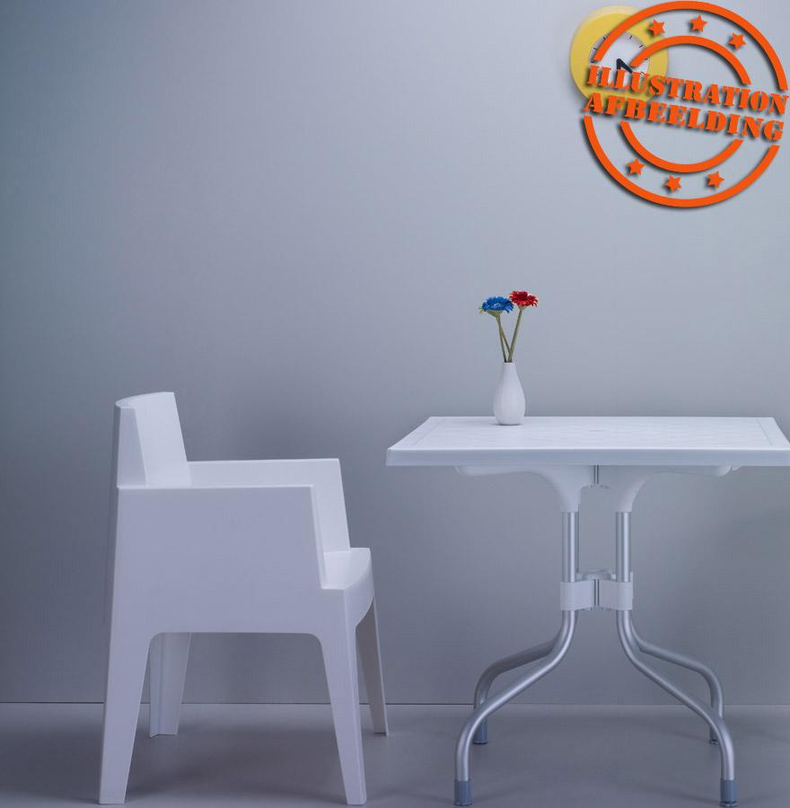 chaise design plemo grise claire chaise de jardin moderne. Black Bedroom Furniture Sets. Home Design Ideas