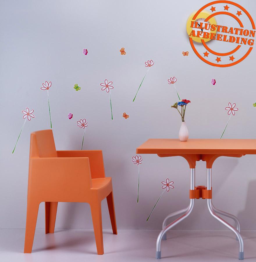 chaise design plemo grise orange chaise de jardin moderne. Black Bedroom Furniture Sets. Home Design Ideas