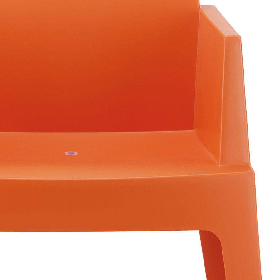 oranje design stoel plemo moderne tuinstoel. Black Bedroom Furniture Sets. Home Design Ideas
