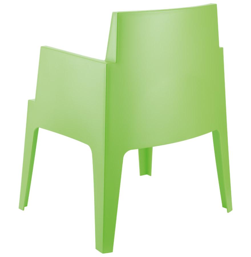 groene design stoel plemo moderne tuinstoel. Black Bedroom Furniture Sets. Home Design Ideas