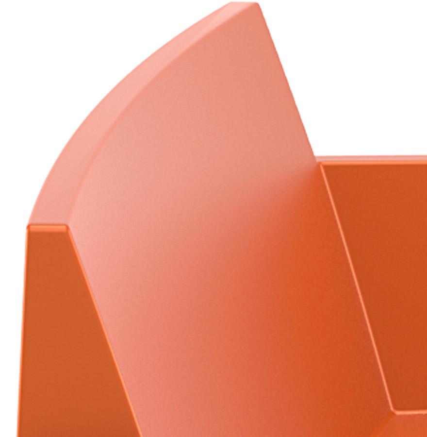 design stoel plemo xl oranje tuinbank uit kunststof. Black Bedroom Furniture Sets. Home Design Ideas