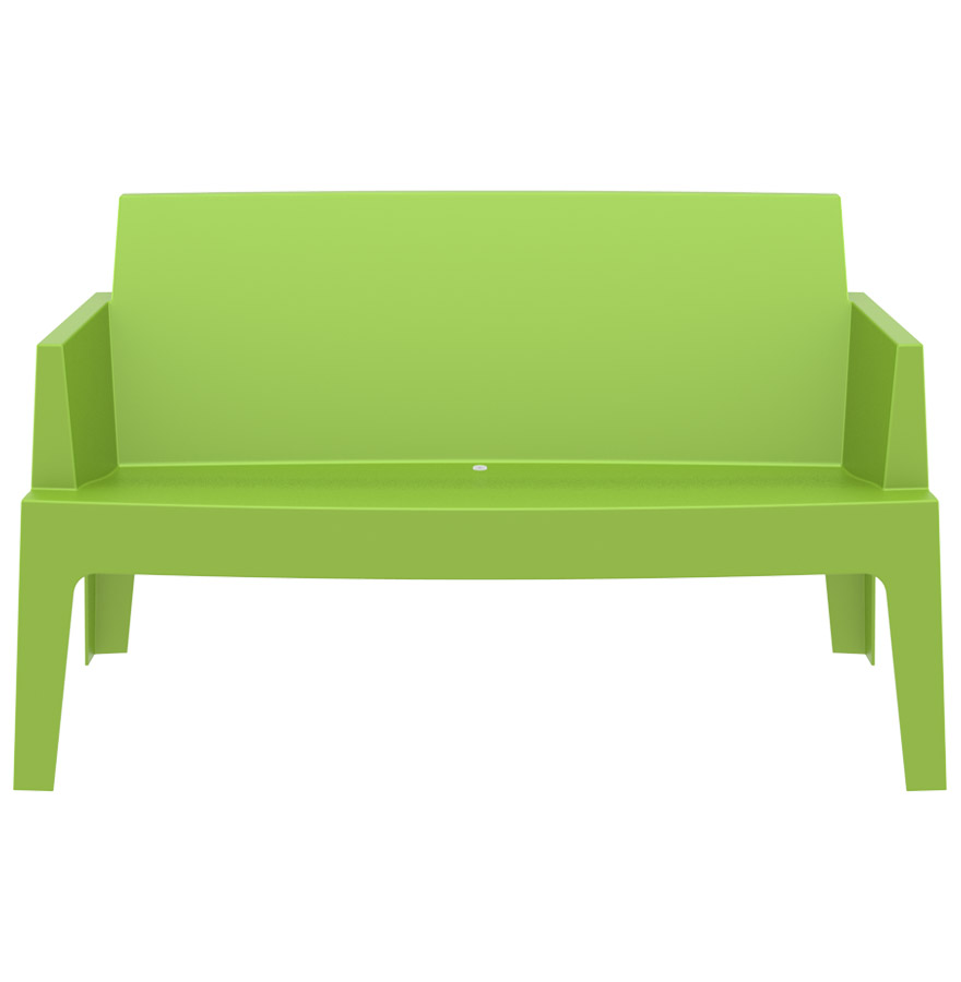 banc de jardin design plemo xl vert en mati re plastique. Black Bedroom Furniture Sets. Home Design Ideas