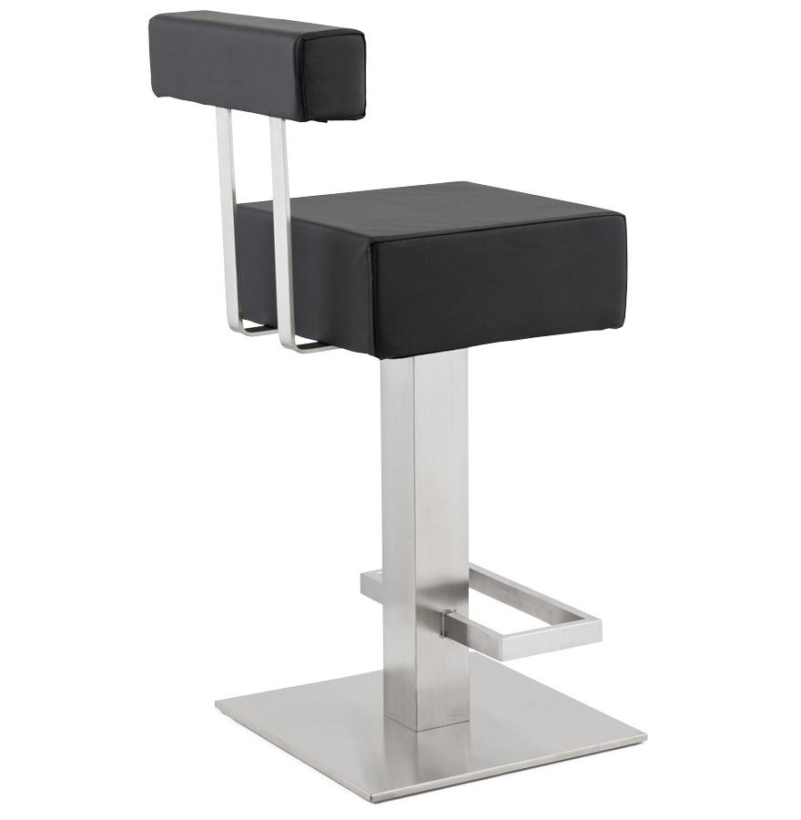 tabouret design pluba tabouret de bar noir. Black Bedroom Furniture Sets. Home Design Ideas