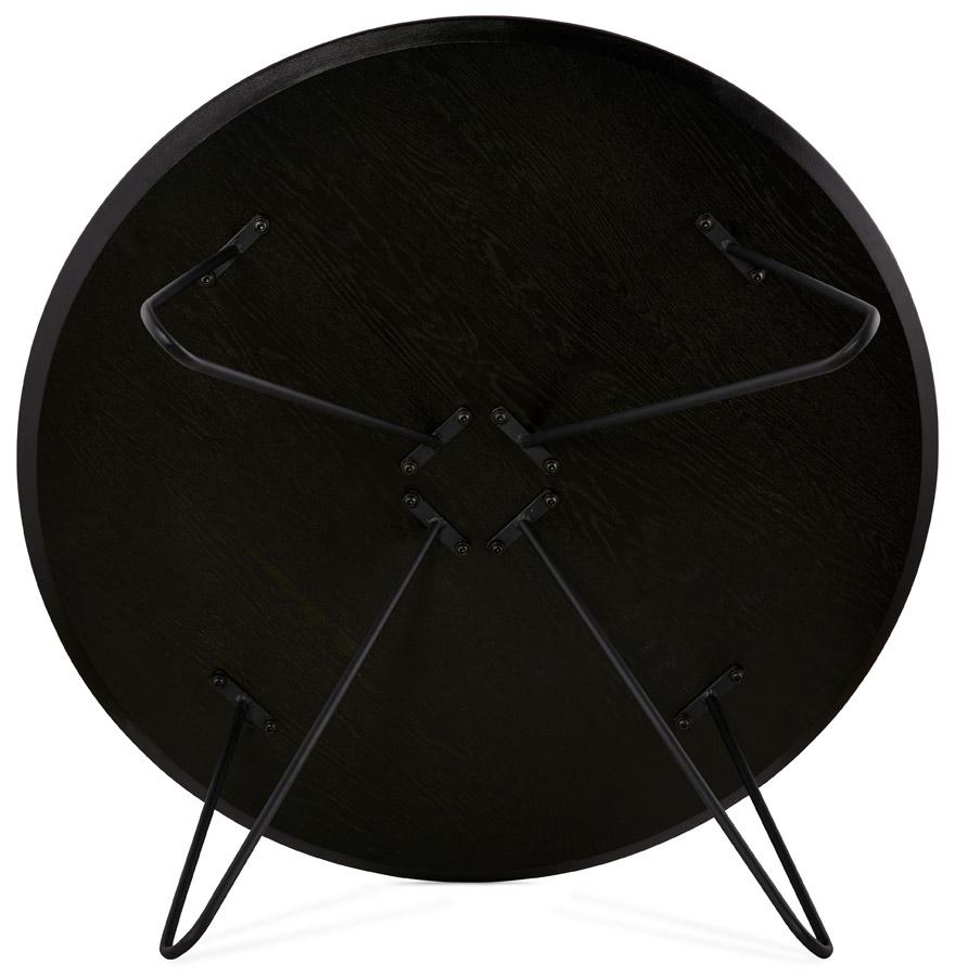 lage zwarte salontafel pluto in industri le stijl design tafel. Black Bedroom Furniture Sets. Home Design Ideas