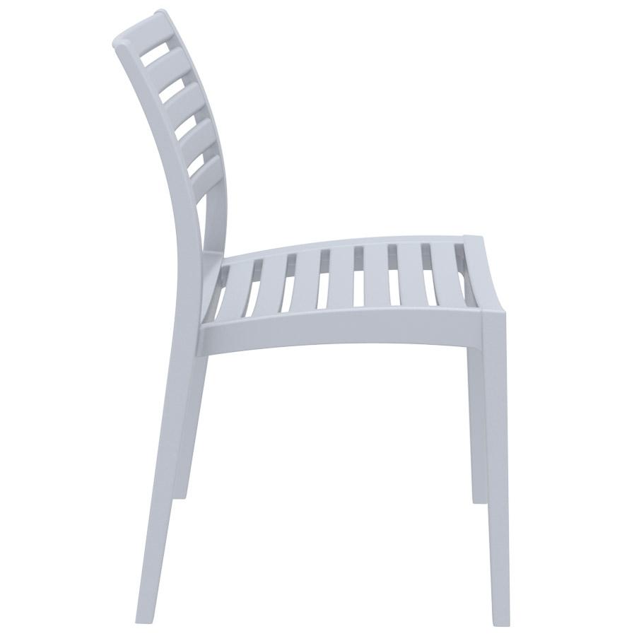 Chaise de terrasse ´PRIMO´ design grise claire