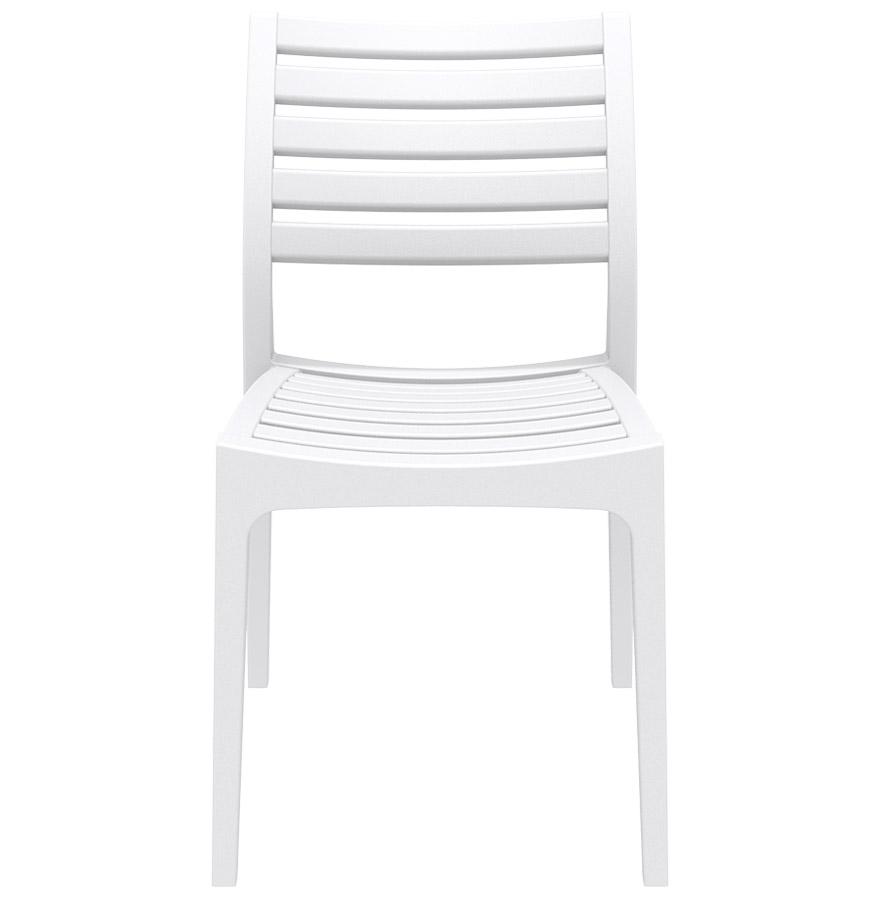 Chaise de terrasse ´PRIMO´ design blanche
