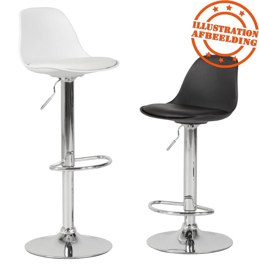 tabouret r glable princes blanc tabouret design confortable. Black Bedroom Furniture Sets. Home Design Ideas