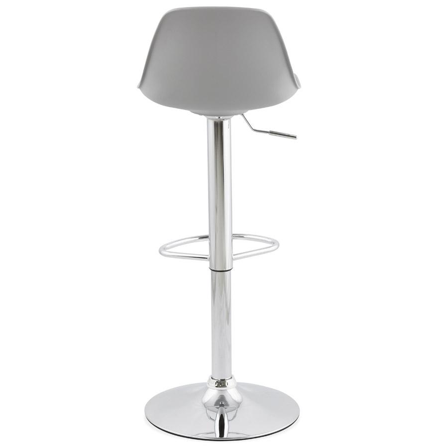 tabouret r glable princes gris tabouret design confortable. Black Bedroom Furniture Sets. Home Design Ideas