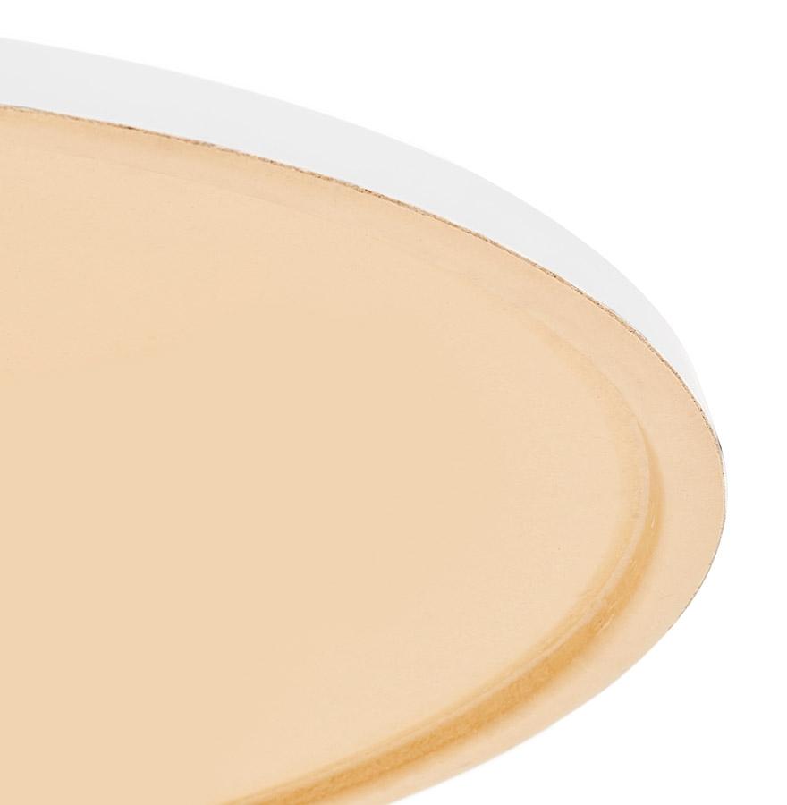 Plateau de table ´PUNTO´ rond blanc intérieur / extérieur - Ø 70 cm