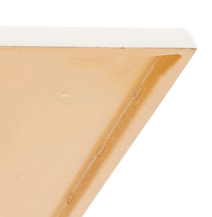 Plateau de table ´PUNTO´ carré blanc intérieur / extérieur - 70x70 cm