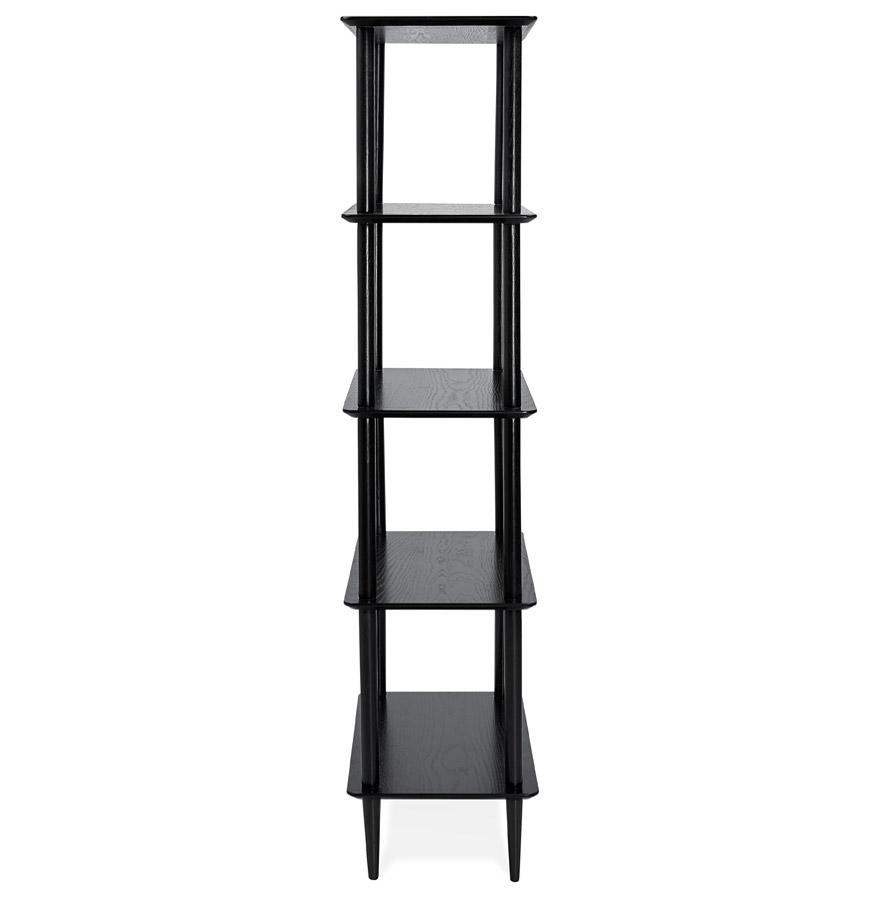Étagère design ´RACK´ noire en bois style scandinave