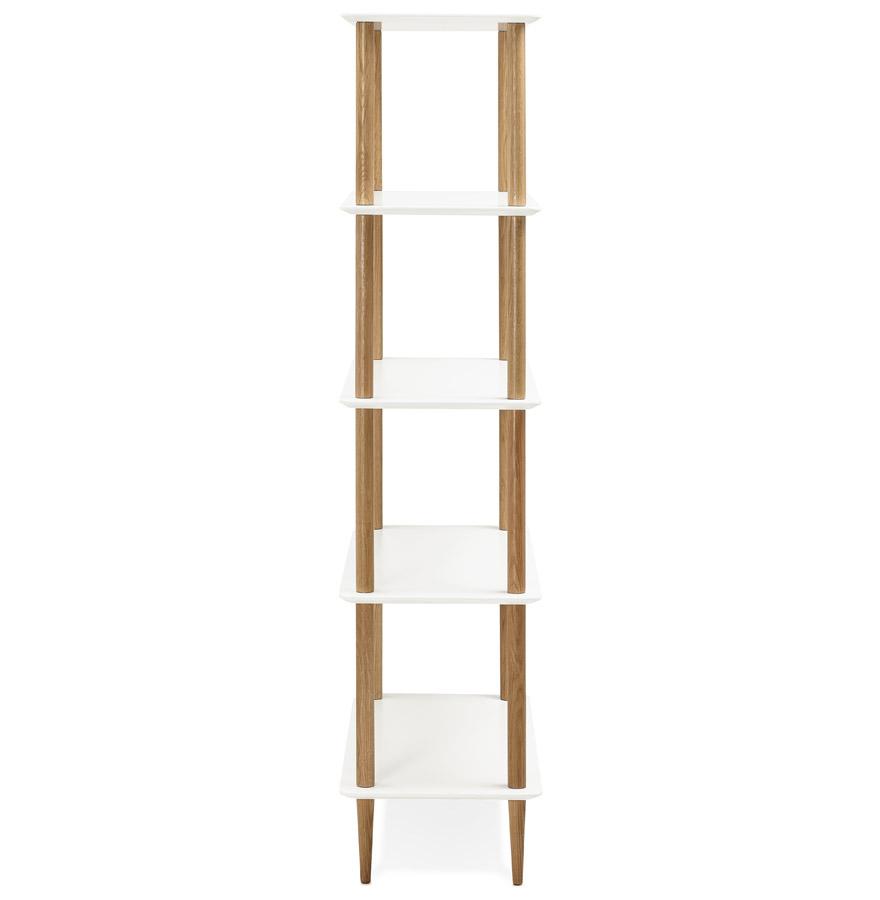 Étagère design ´RACK´ blanche en bois style scandinave