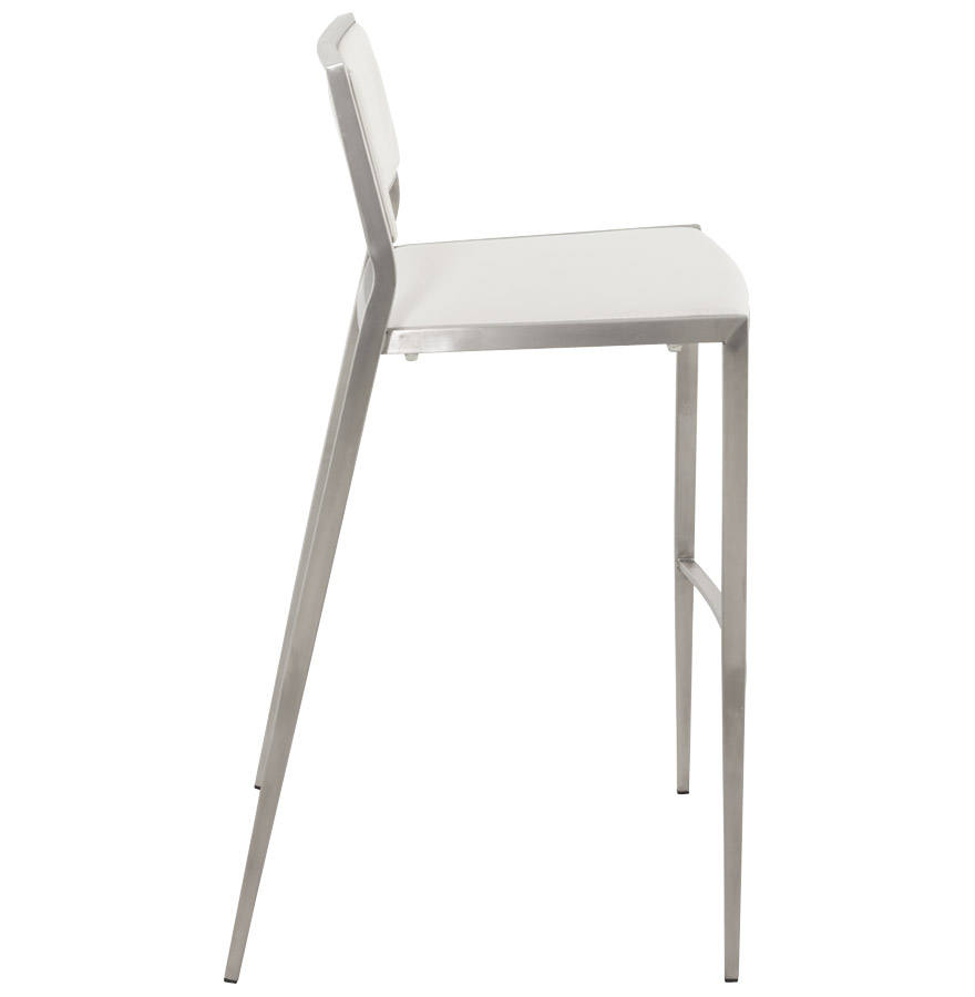 tabouret de bar resto blanc tabouret contemporain. Black Bedroom Furniture Sets. Home Design Ideas