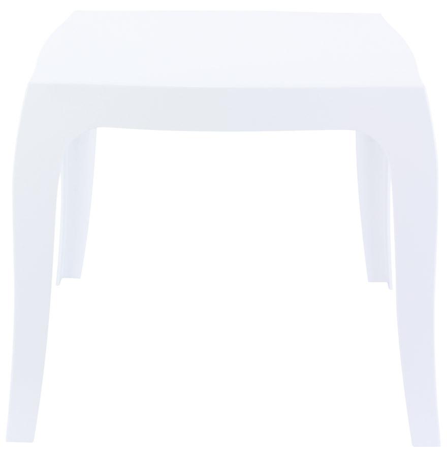 Table d´appoint ´RETRO´ design blanche