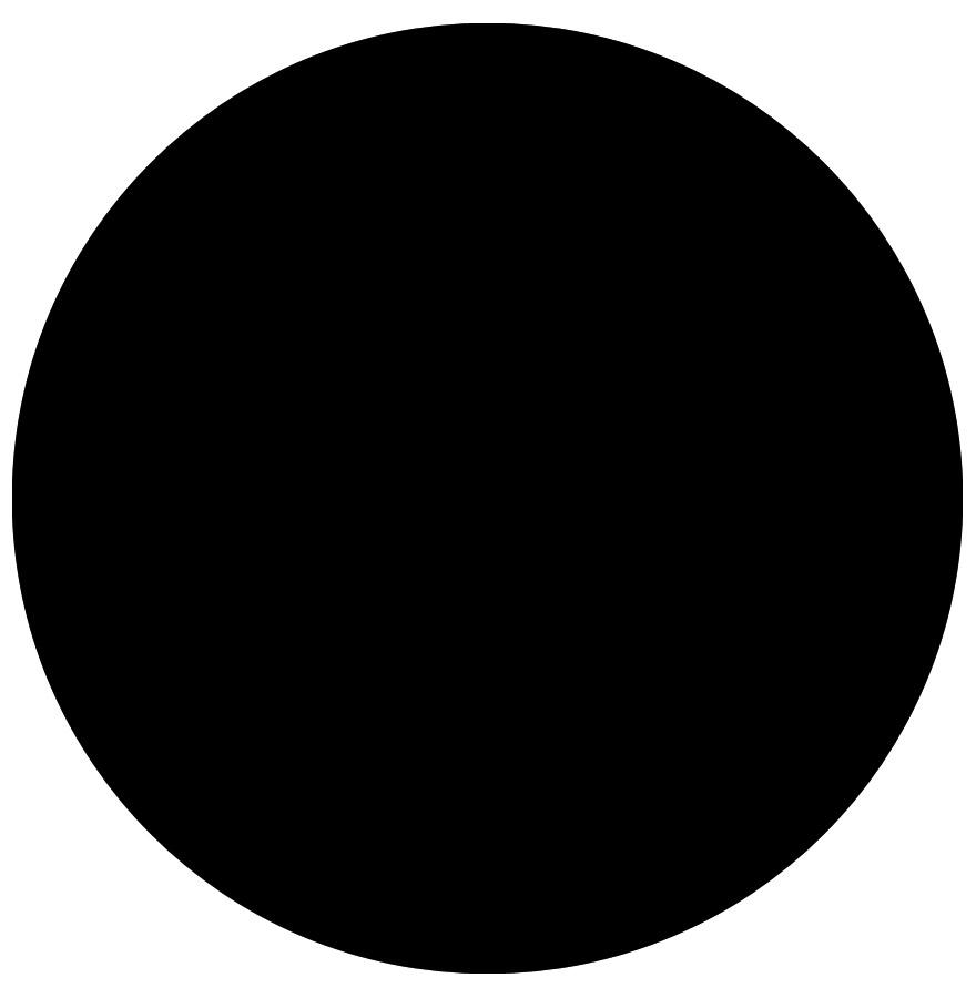 Plateau de table 39 ringo 39 rond 70cm noir alterego design - Plateau rond de table ...