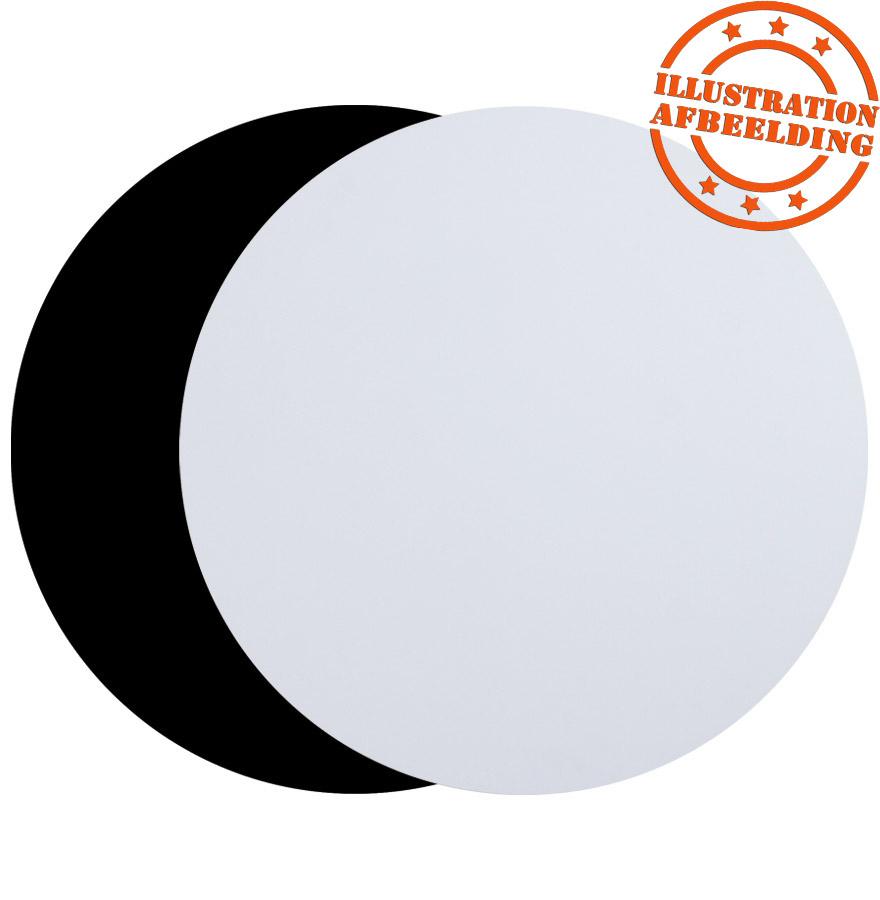 Plateau de table ´RINGO´ rond Ø 60cm noir