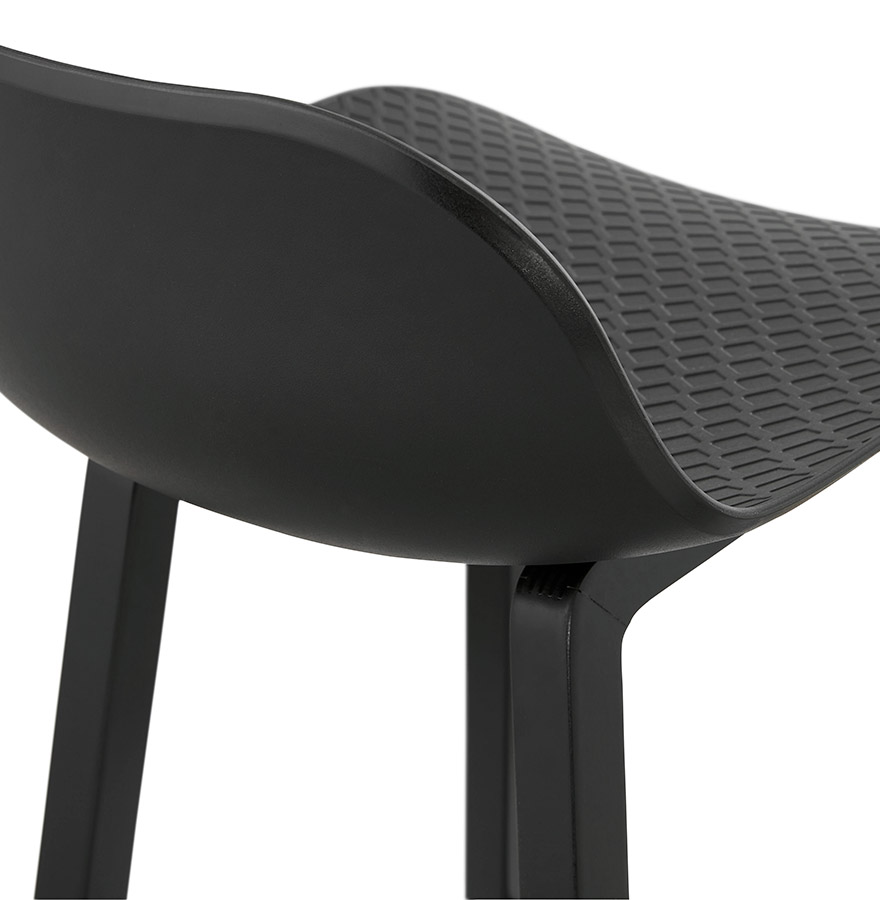 halfhoge kruk sashimi mini zwart design kruk. Black Bedroom Furniture Sets. Home Design Ideas