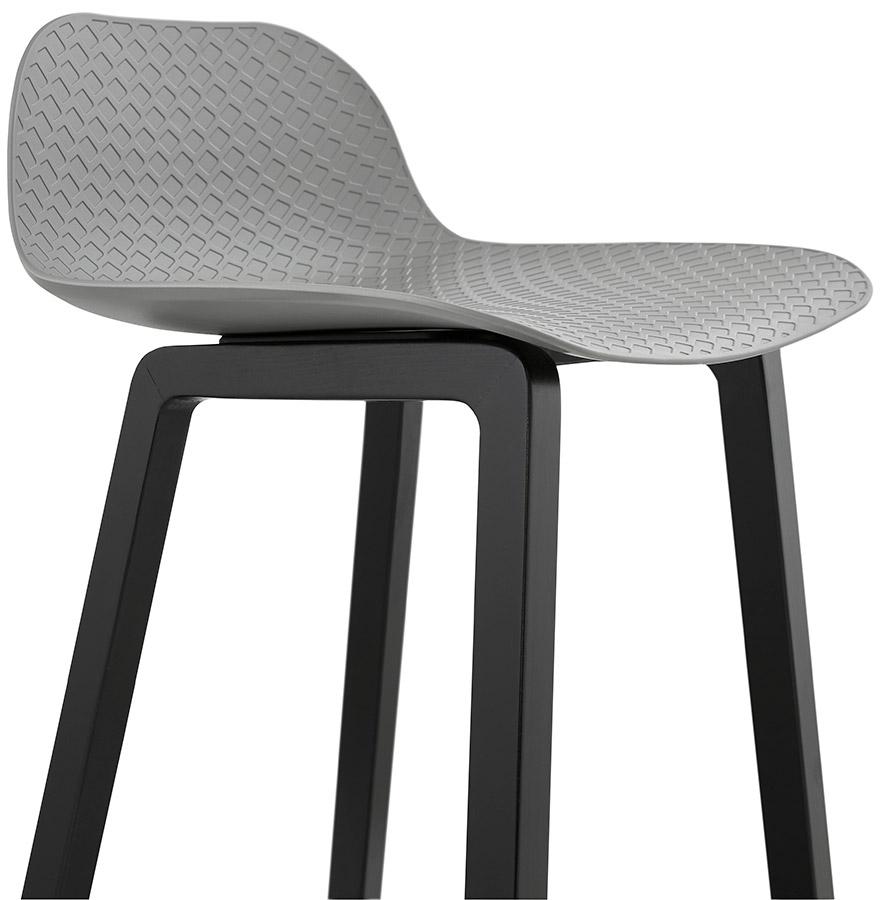 tabouret mi hauteur sashimi mini gris tabouret snack design. Black Bedroom Furniture Sets. Home Design Ideas