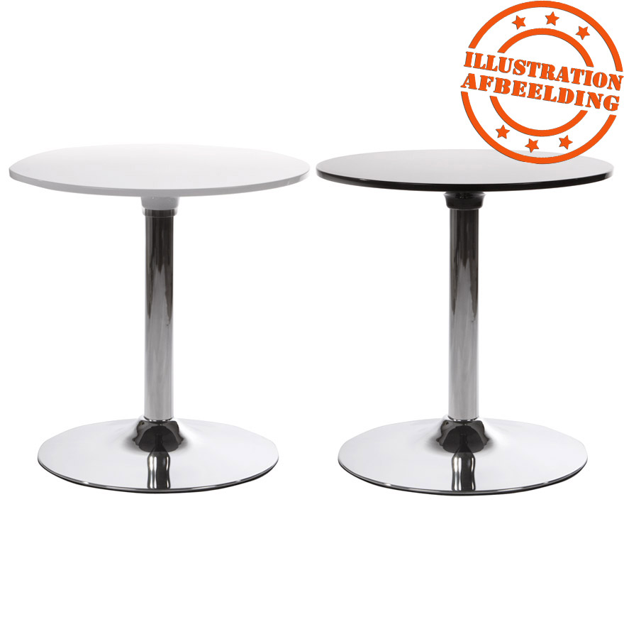 Table d'appoint SATURN blanche Petite table design