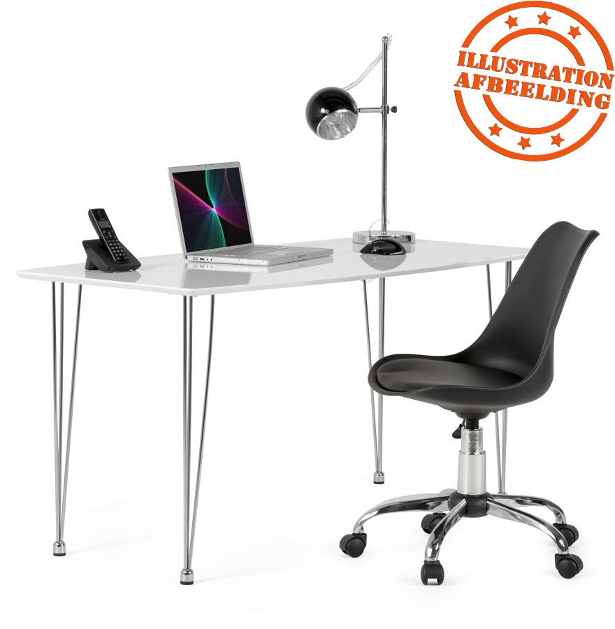 chaise de bureau moderne sedia noire si ge de bureau. Black Bedroom Furniture Sets. Home Design Ideas
