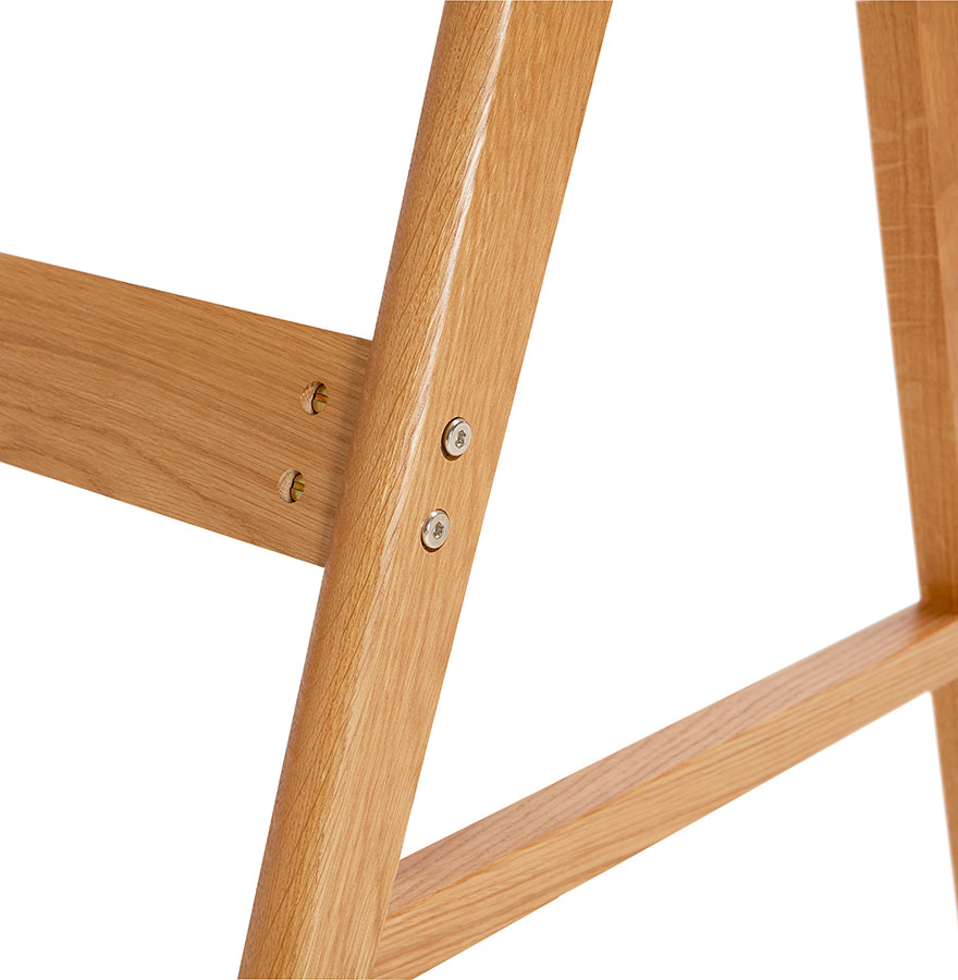 Bureau droit design siroko blanc style scandinave cm