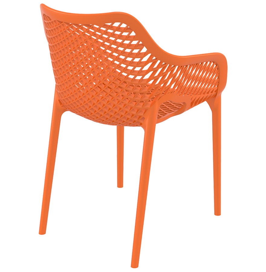 chaise de jardin terrasse sister orange en mati re plastique. Black Bedroom Furniture Sets. Home Design Ideas
