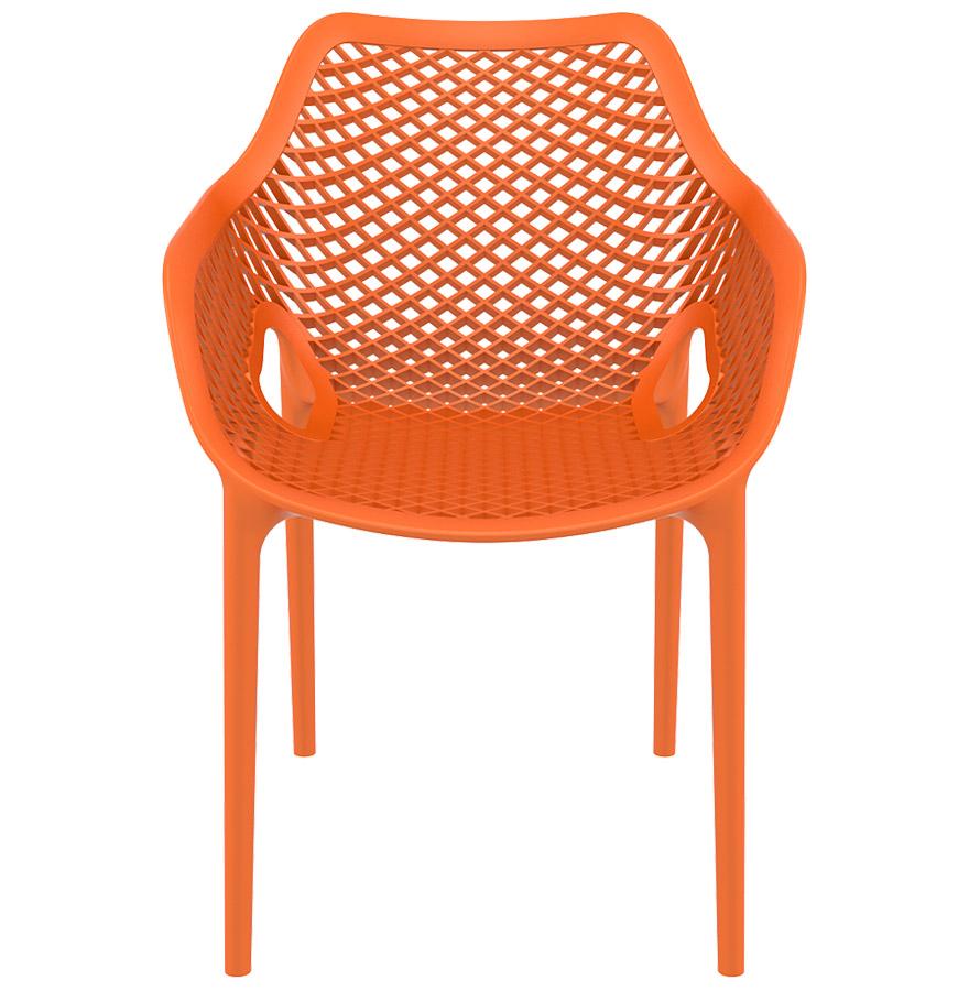 chaise de jardin terrasse sister orange en mati re plastique. Black Bedroom Furniture Sets. Home Design Ideas