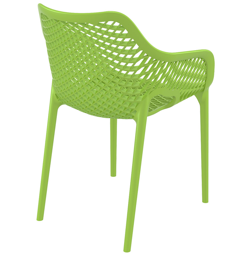 sister tropical green 02 - Chaise de jardin / terrasse ´SISTER´ verte en matière plastique