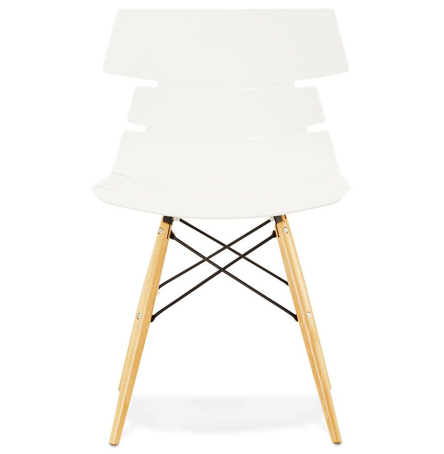 sofy white psd h2 02 - Chaise moderne ´SOFY´ blanche style scandinave