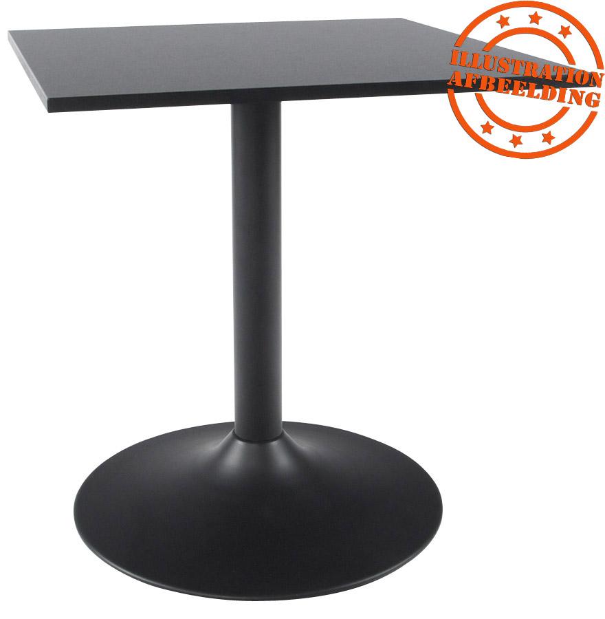 Plateau De Table 39 Spano 39 80x80cm Noir Carr